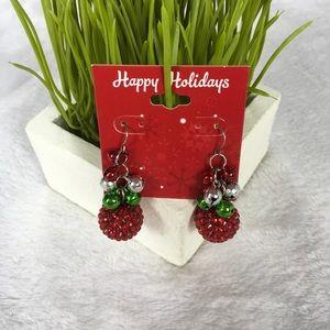 Jewelry - Jingle Bells Drop Earrings Christmas Holidays NWT